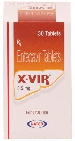 X VIR 0.5 MG