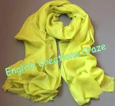 Modal Ombre Dyed Plain Color Scarves