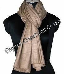 Wool Merino Melange Plain Color Scarves