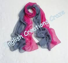 Silk  Ombre Dyed scarves