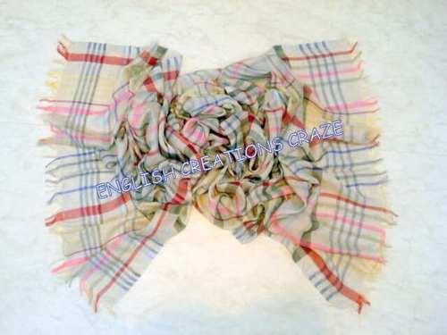 Polyester Jacquard Blend  Scarves