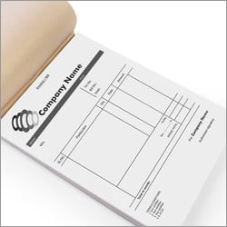 Bill Book Printing Services