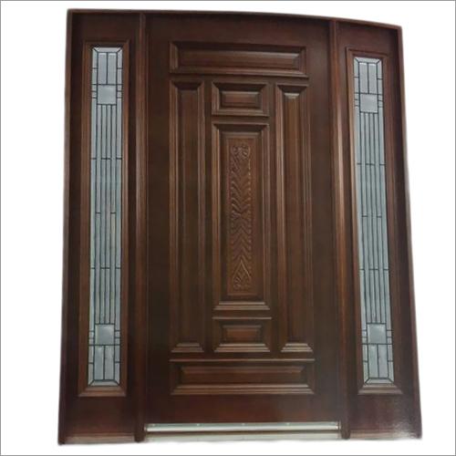 Glass panels Wooden Doors