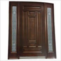 Glass panels Wooden Doors