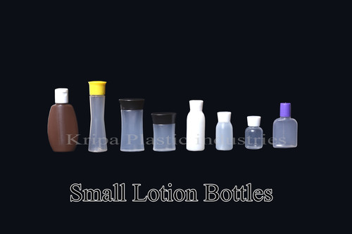 Small shampoo bottles
