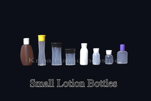 Small shampoo bottles