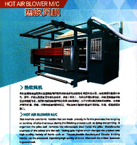 Hot Air Blower Machine