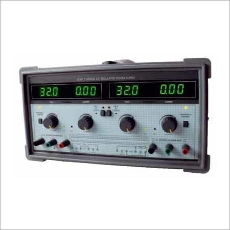 Dual Channel DC Regulated Power Supply