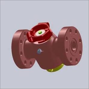 flange end plug valve