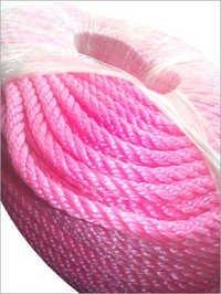 Pink HDPE Mono Rope