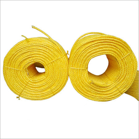 HDPE Yellow Danline Rope