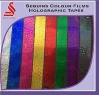Sequins Colours Film Holographic Tapes