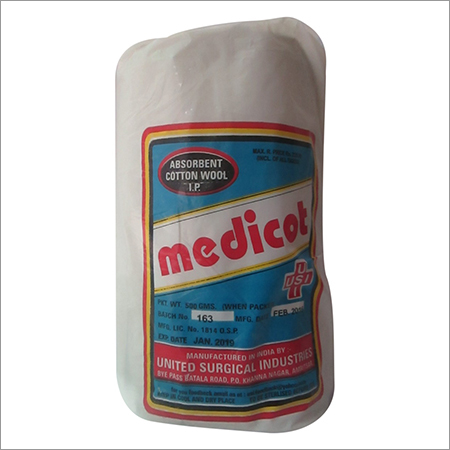 Absorbent Cotton Wool