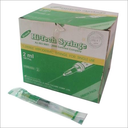 Disposable Syringe