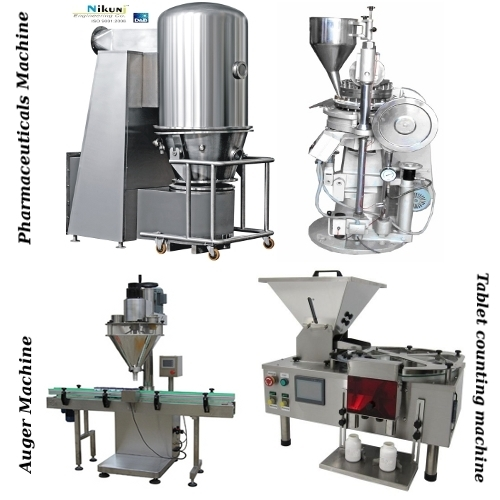Pharma & Tablet Counting & Auger Machine