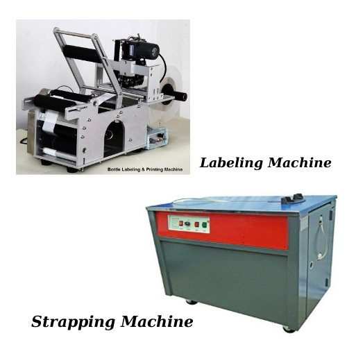 Labeling Machine & Strapping Machine