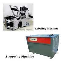 Labeling Machine & Strapping Machine