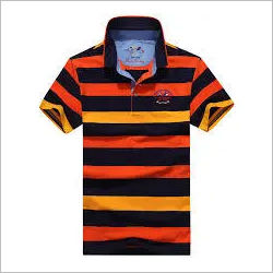 Cotton Polo T Shirt stripped