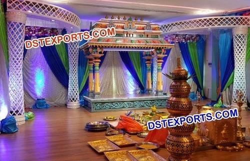 Tamilian Wedding Crystal Stage