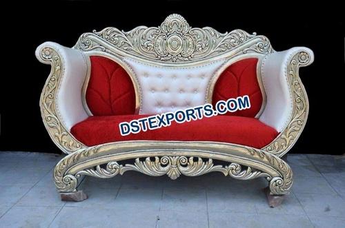 Wedding Two Seater Metal Sofa