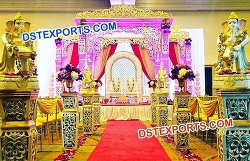Rajwada Style Shahi Wedding Mandap