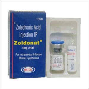 Zoldonat, Zoledronic Acid Injection 4 mg