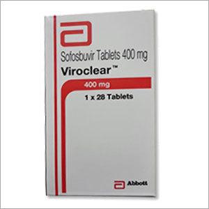 Viroclear Sofosbuvir Tablets 400 mg