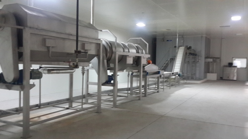 IQF Vegetable and Fruit Line Blancher cum Cooler