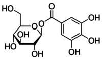 1-O-Galloyl-β-D-glucose
