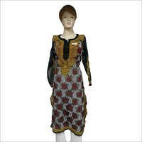 Chikan Embroidery Georgette Kurtis