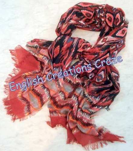 Polyester Jacquard  Multi Color Stoles