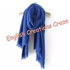 Silk Ombre Dyed Plain Color Stoles