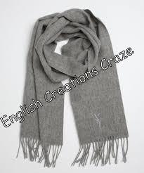 Wool Merino Melange Solid Color Stoles