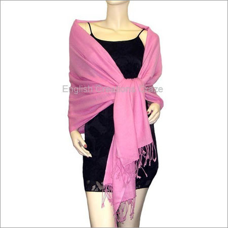Cashmere Uni  Color Stoles