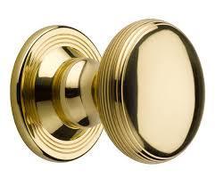 Brass Round Door Knobs