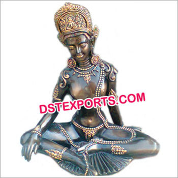 Handicraft God Fiber Buddha Statue