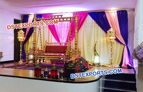 Golden Sankheda Wedding Swing