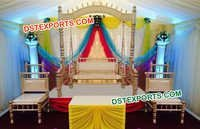 Sankheda Swing With Chairs For Wedding