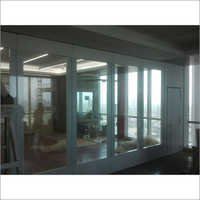 Folding Glass Wall