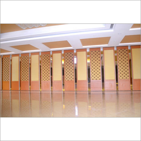 Acoustic Sliding Folding Partition