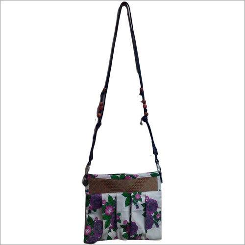 Palm Leaf Leather Bags