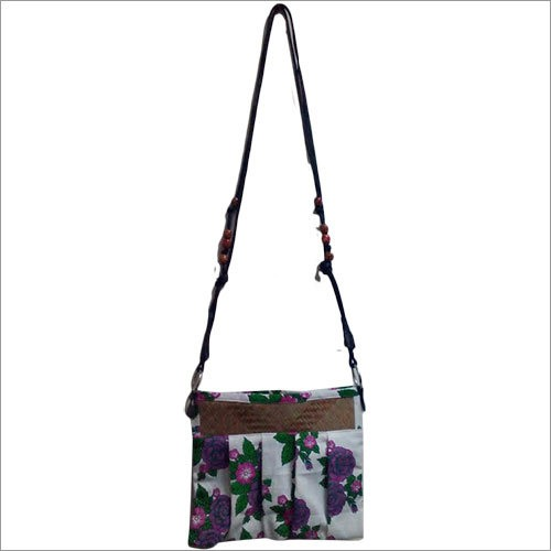Cotton Fashion Sling Bag