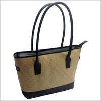Palm Leaf Leather Bags