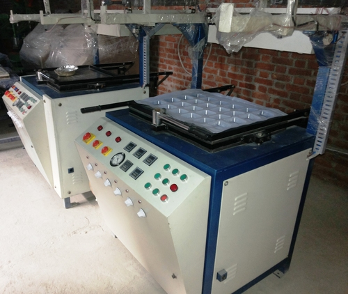 Looking Thermocol Dona Making Machine