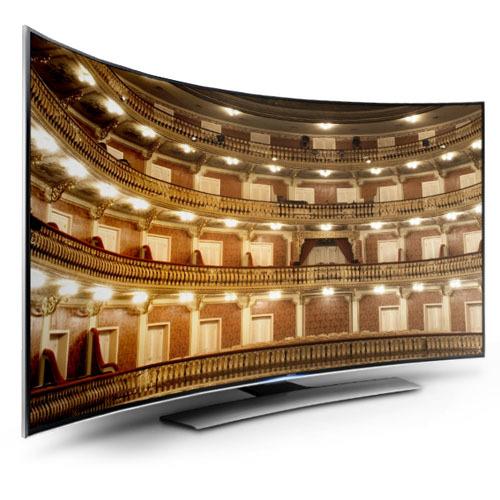 Curve LED TV