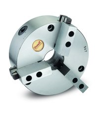 Unnat 3 Jaw Chuck With Base Hard Top Soft Jaws