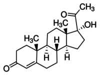 17α-Hydroxyprogesterone solution