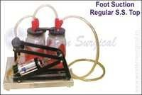 FOOT SUCTION REGULAR S.S. TOP