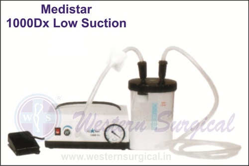 MEDISTAR 1000DX LOW SUCTION