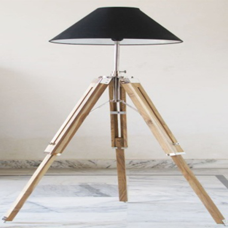 Timber Floor Lamp Stand Teak Natural Wooden Stand Exporter, Timber ...